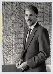 Author photo. Albert J. Raboteau, Henry W. Putnam Professor of Relligion, Princeton University. Photo by J.T. Miller, 1990 (photo courtesy of Princeton University)