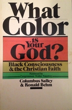 What color is your God?: Black consciousness…