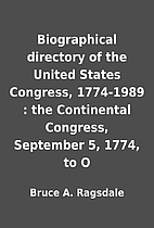 Biographical directory of the United States…