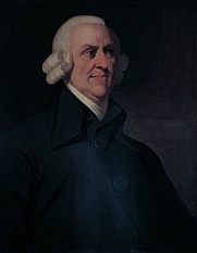 Author photo. The Muir portrait wikidata:Q18683104 Description Portrait of the political economist and philosopher Adam Smith (1723-1790) by an unknown artist, which is known as the 'Muir portrait' after the family who once owned it. The portrait was probably painted posthumously, based on a medallion by James Tassie.