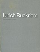 Ulrich Rückriem by Rudy Fuchs Ulrich…