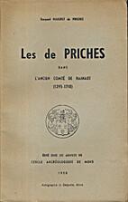 Mons: 1950, Les de Priches dans l'ancien…