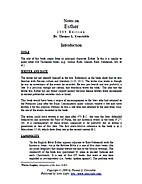 Notes on Esther by Thomas L. Constable