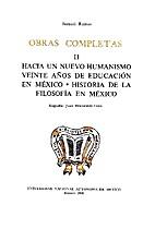 OBRAS COMPLETAS II HACIA UN NUEVO HUMANISMO.…