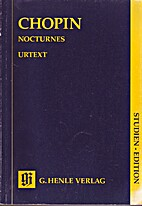 Chopin: Nocturnes (Henle Music Folios,…