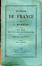 Histoire de france - tome treizième -…