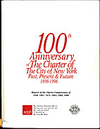 100th Anniversary of the Charter of the City…