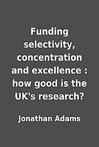 Funding selectivity, concentration and…