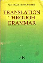 Translation through grammar : a graded…