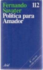 Politica Para Amador by Fernando Savater