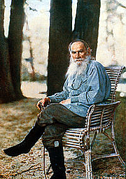 Author photo. <a href=&quot;http://en.wikipedia.org/wiki/Leo_Tolstoy&quot; rel=&quot;nofollow&quot; target=&quot;_top&quot;>http://en.wikipedia.org/wiki/Leo_Tolstoy</a>