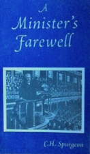 A Minister's Farewell by Charles Spurgeon