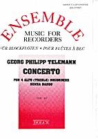 Concerto for 4 alto (treble) recorders by…