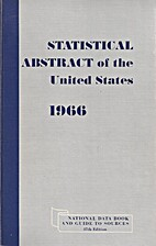 Statistical Abstract of the United States…