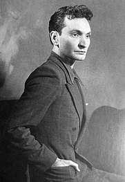 Author photo. Albert Cossery, 1931