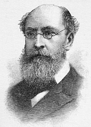 Author photo. Benjamin Apthorp Gould, engraving from Harper & Brothers, 1905. Wikimedia Commons.