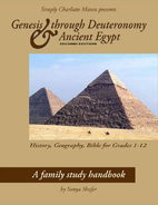 Genesis through Deuteronomy & Ancient Egypt…