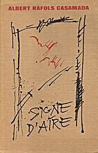 Signe d'aire : Obra poètica 1968-1976 by…
