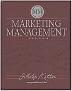 Marketing management. 11th edition by Philip…