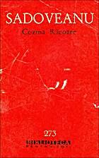 Cozma Racoare by Mihail Sadoveanu
