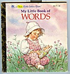 My Little Book of Words by Golden Books