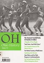 Ohio History Volume 114 (feature Article :…
