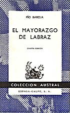 The Lord of Labraz by Pío Baroja