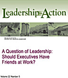 A Question of Leadership: Should Executives…