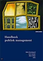 Handboek publiek management by Mirko…