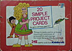20 Simple Project Cards by Kiddicraft