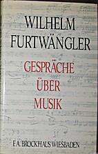 Gespräche über Musik by Wilhelm…