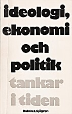 Ideologi, ekonomi och politik : tankar i…