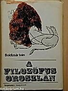 A filozófus oroszlán by Iván Boldizsár