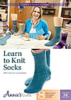 Learn to knit socks [videorecording] by Liz…