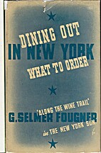 Dining out in New York and what to order by…