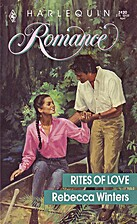 Rites of Love by Rebecca Winters
