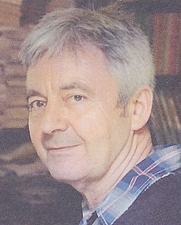 Author photo. Cropped scan of cover of <i>Penguin Scribe</i>