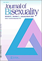 Journal of Bisexuality by James D. Weinrich