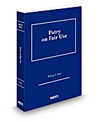 Patry on Fair Use [2013 edition] by William…