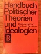 Handbuch Politischer Theorien und…