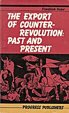 The export of counter-revolution : past and…