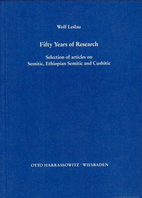 Fifty Years of Research : Selection of…