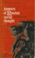 Pioneers of Russian social thought by…