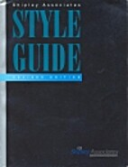 Shipley Associates Style Guide by Lawrence H…