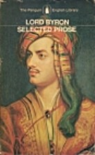 Selected Prose by Lord Byron