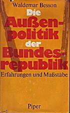 Die Außenpolitik der Bundesrepublik.…