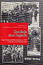 Das Ende einer Legende: Kapp-Putsch und…