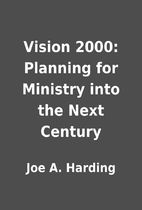 Vision 2000: Planning for Ministry into the…