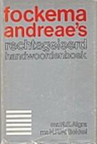 Fockema Andreae's rechtsgeleerd…