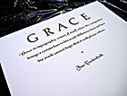 Grace by Jan Tschichold